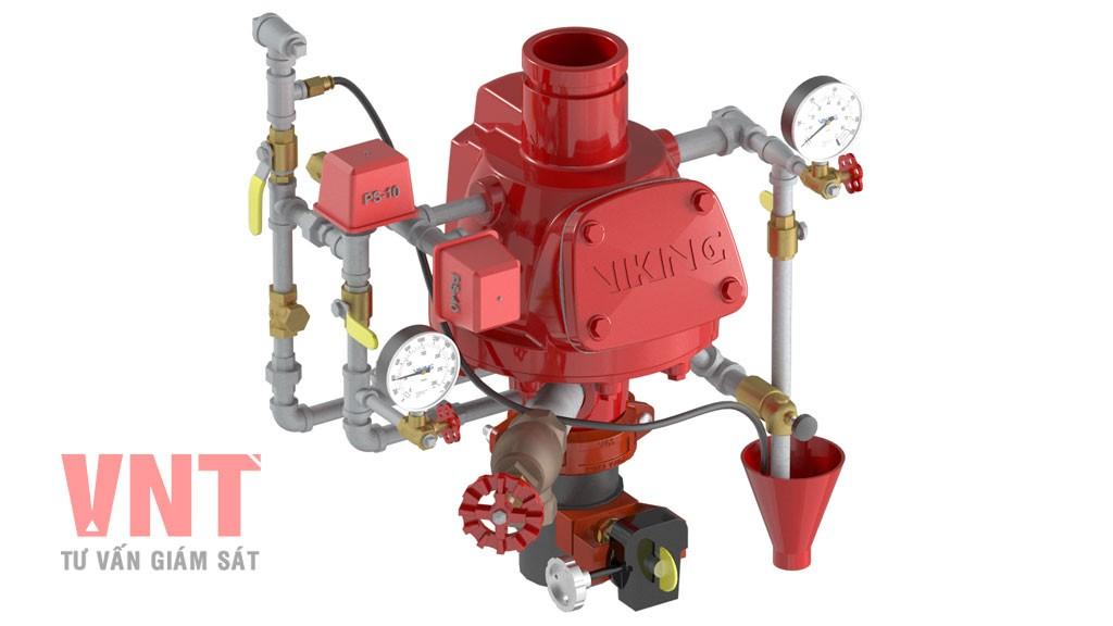 TCVN 6305-8:2013 - Yêu cầu và phương pháp thử đối với Van báo động khô tác động trước của hệ thống Sprinkler tự động