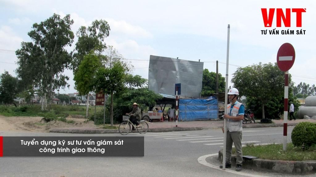 Tuyển dụng kỹ sư tư vấn giám sát công trình giao thông