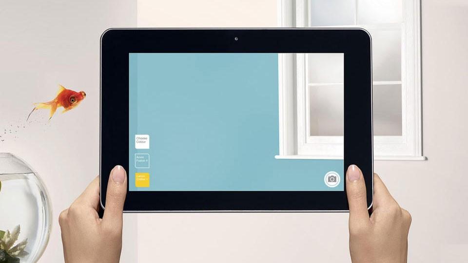 Phần mềm chọn màu sơn tường Dulux