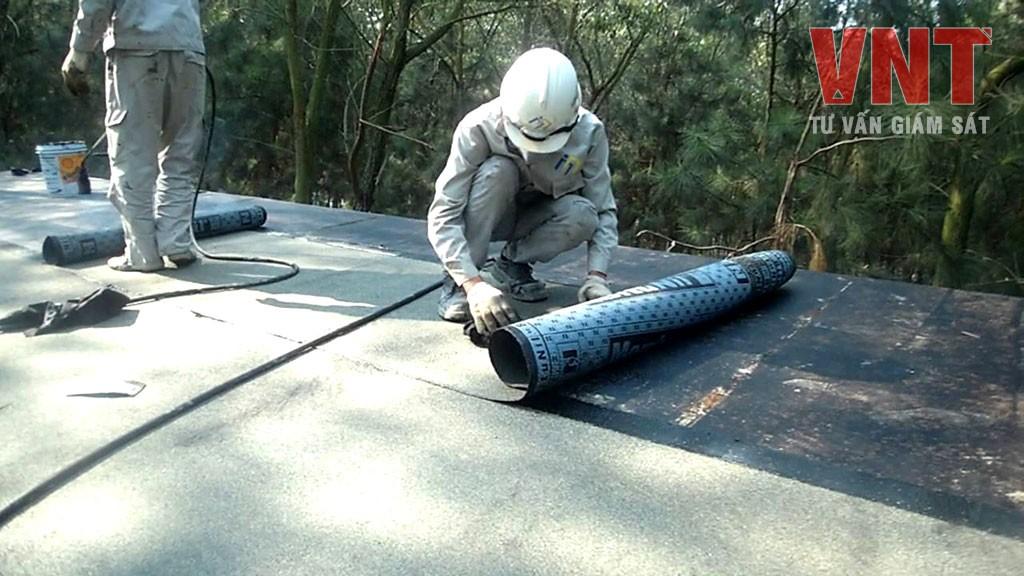 TCVN 9067-2:2012 - Tấm trải chống thấm trên cơ sở bitum biến tính - Phương pháp thử - Phần 2: Xác định độ bền chọc thủng động
