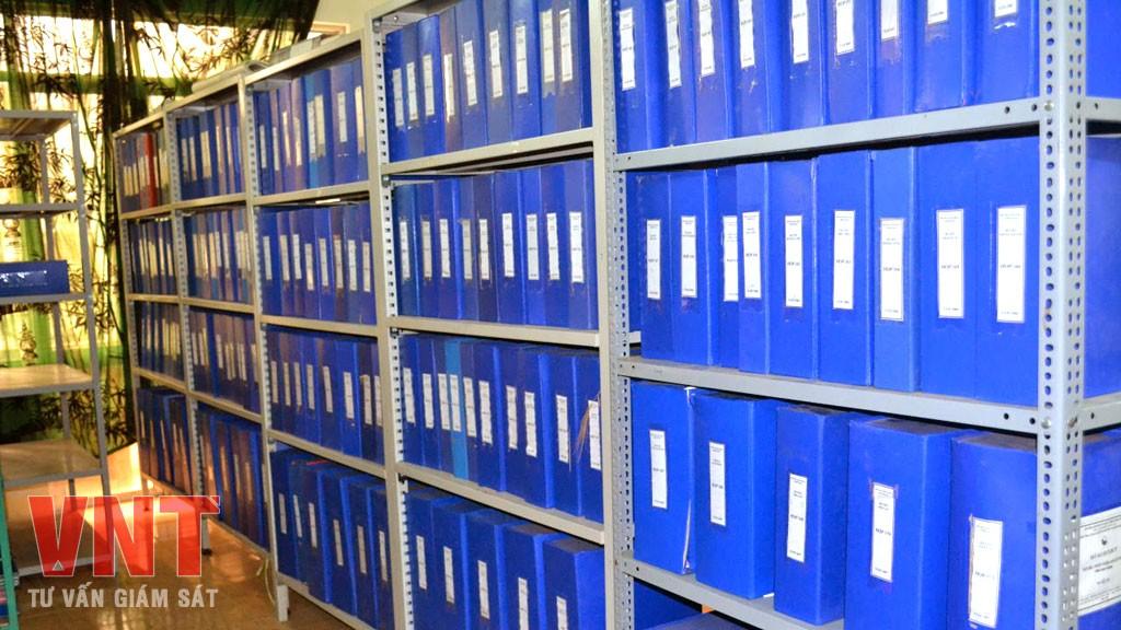 Danh mục hồ sơ hoàn thành công trình