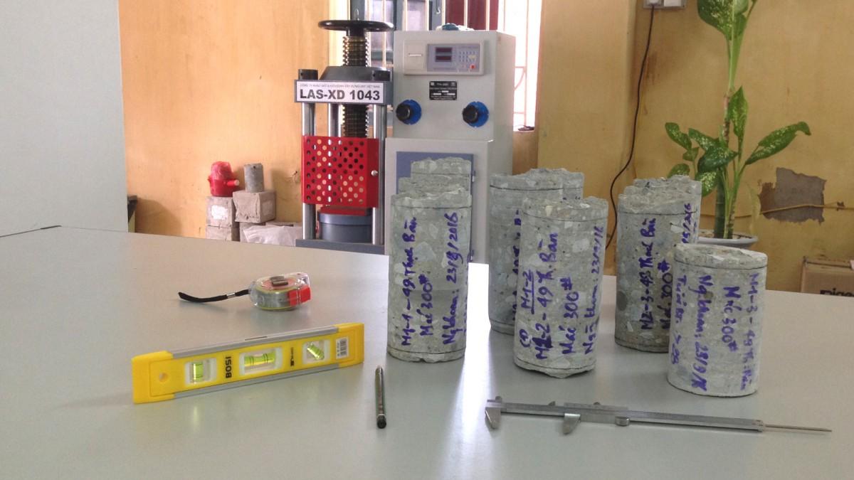 Quy trình kiểm định chất lượng bê tông hiện trường bằng...
