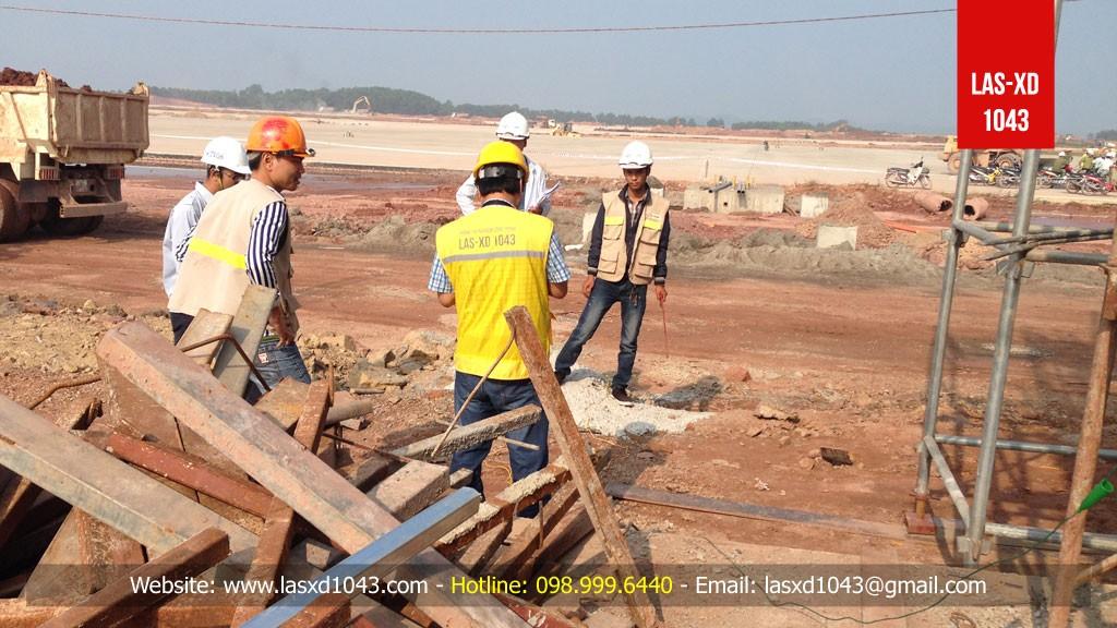 Thí nghiệm đo điện trở tiếp địa tại Sân Bay Vân Đồn - Quảng Ninh