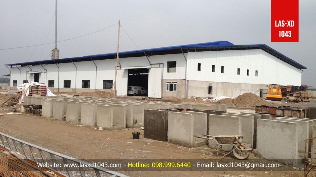 Kiểm định chất lượng bê tông nền Nhà máy luyện kim Hanxing-Sanhe