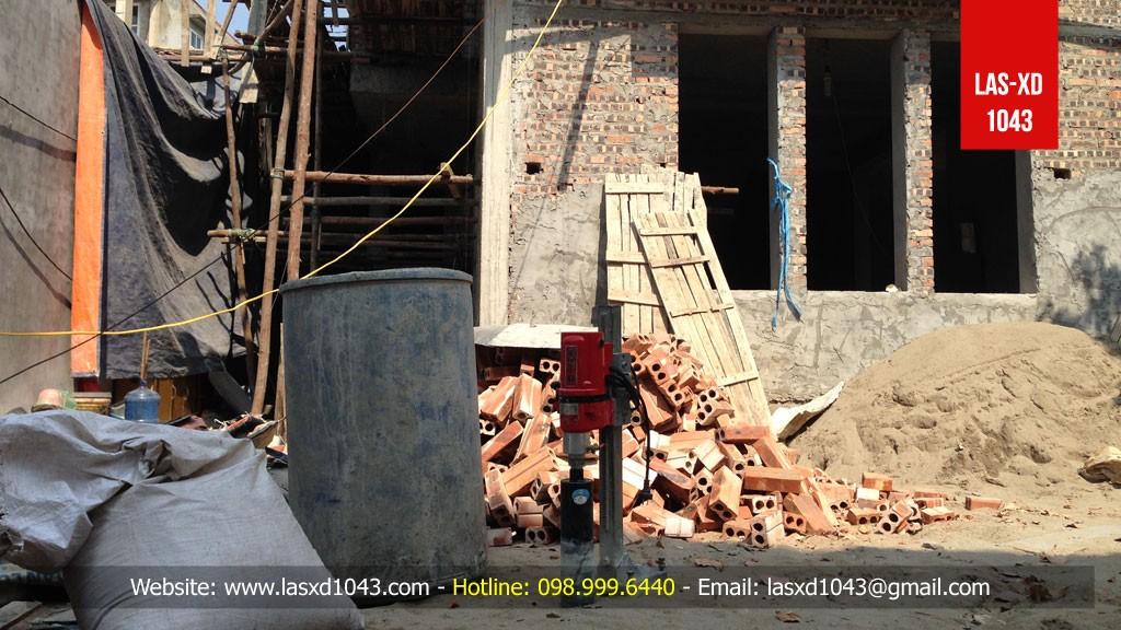 Kiểm định chất lượng bê tông dầm sàn mái Nhà Anh Đồng -...