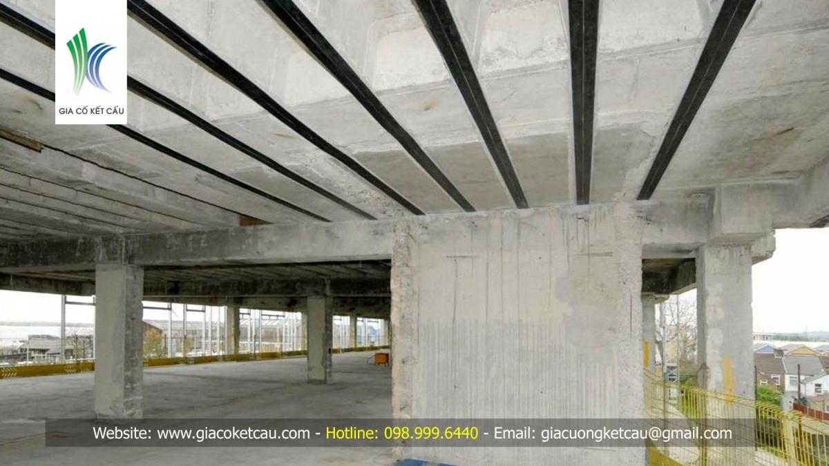 Sửa chữa công trình bê tông cốt thép bằng phương pháp... dán!