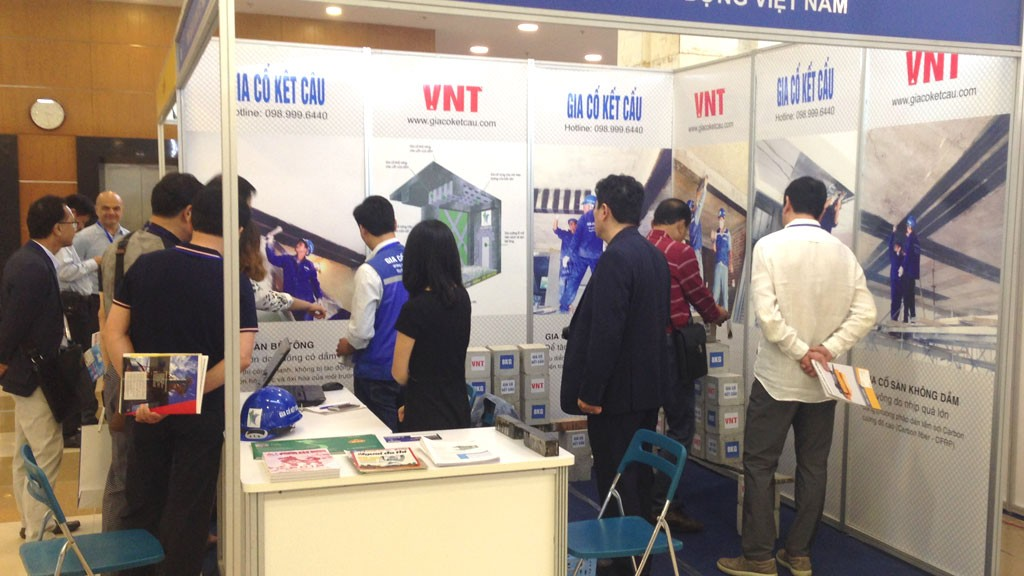 VNT tham dự Triển lãm Contech Việt Nam 2018
