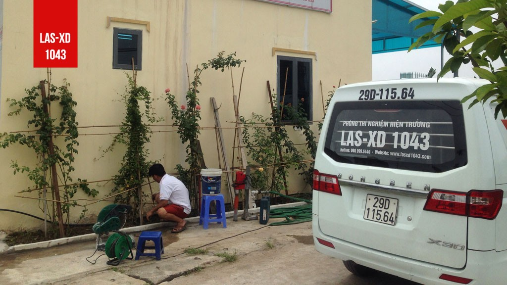 Kiểm định chất lượng bê tông sàn mái Nhà văn phòng tại Huyện Yên Mỹ - Hưng Yên