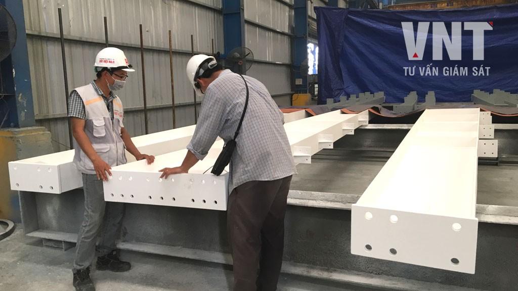 Quy định về nghiệm thu công tác gia công lắp dựng kết cấu thép