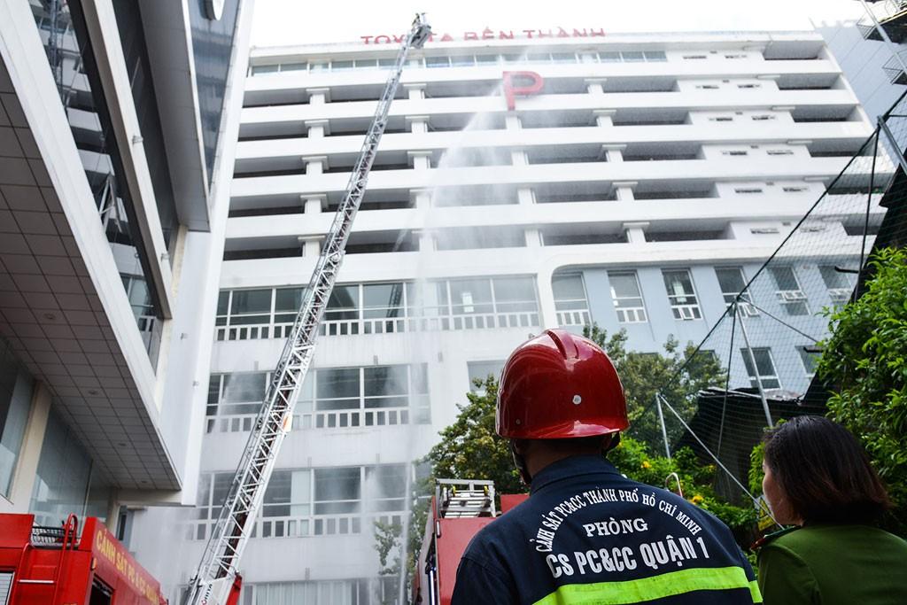 Quy chuẩn phòng cháy chữa cháy đối với nhà cao tầng