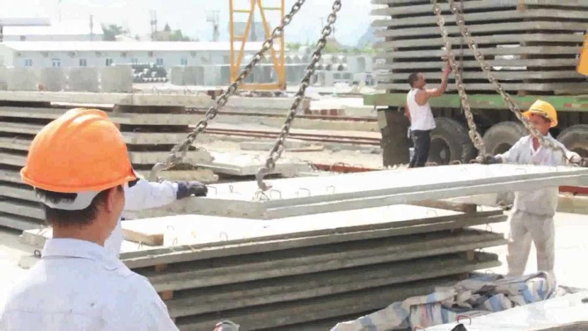 TCVN 9376:2012 - Nhà ở lắp ghép tấm lớn - Thi công và nghiệm thu công tác lắp ghép