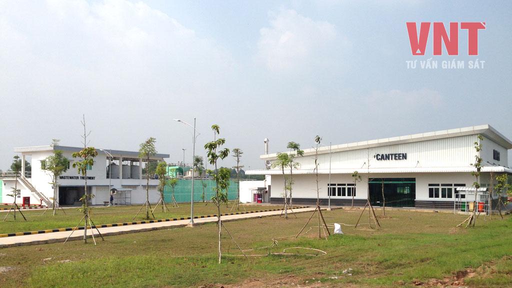 Toàn cảnh góc nhà máy khu vực Nhà Căng tin