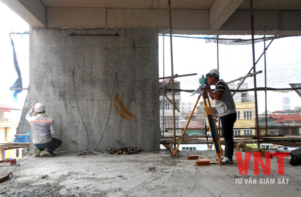Kiểm tra trắc địa công trình