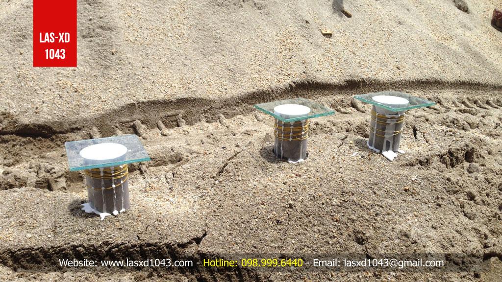 Kiểm định chất lượng bê tông sàn mái tại Hải Dương