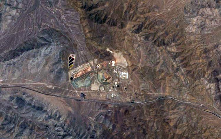 Mỏ đất hiếm Mountain Pass ở California, Mỹ