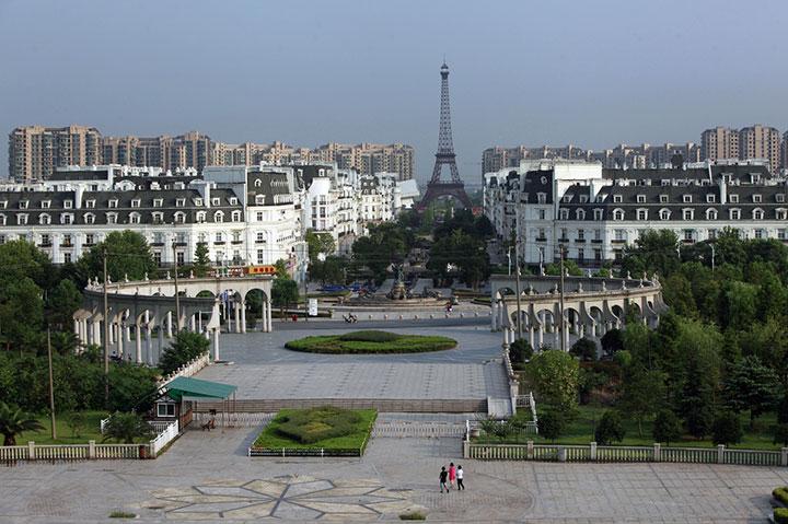 Dự án Sky City ở ngoại ô thành phố Hàng Châu - Trung Quốc