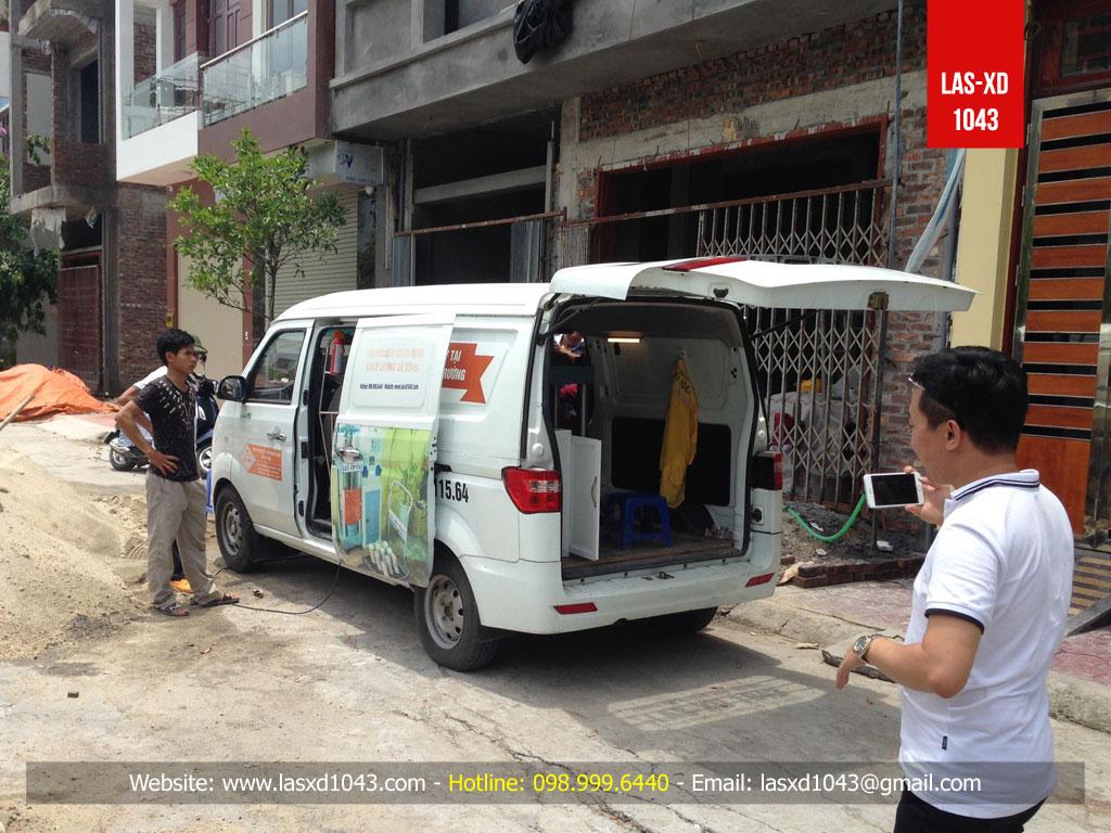 Toàn cảnh công tác kiểm định chất lượng bê tông sàn mái công trình nhà ở gia đình tại Hải Dương