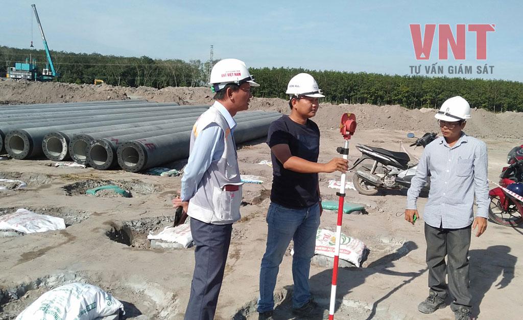 Giám sát trắc địa móng công trình