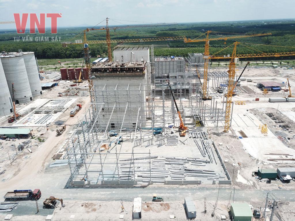 Giám sát thi công lắp dựng kết cấu thép