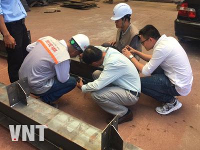 Giám sát công tác gia công kết cấu thép tiền chế tại xưởng trước khi triển khai sơn phủ