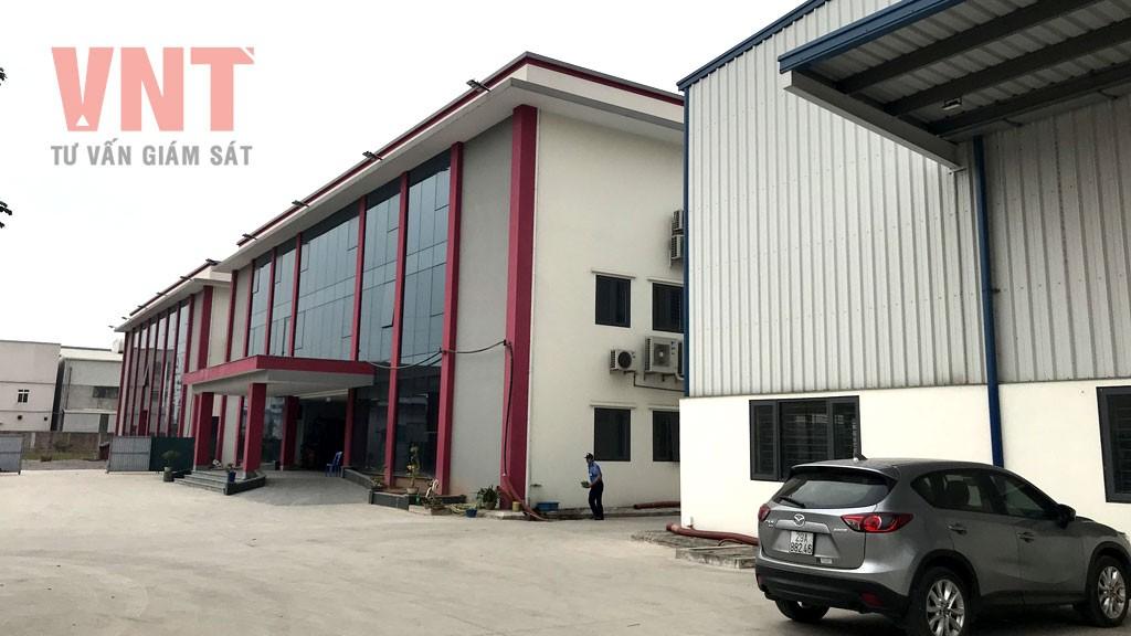 Nhà máy sản xuất sơn và mực in công nghiệp Gia Anh - Giai đoạn 1
