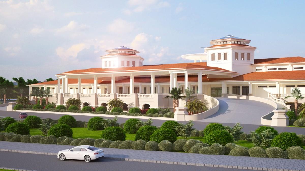 Nhà Câu lạc bộ và dịch vụ sân golf Tân Sơn Nhất