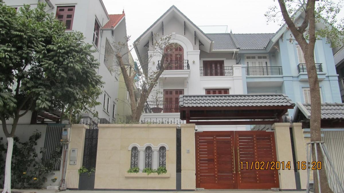 Biệt thự số 6 No12 Khu đô thị Dịch Vọng