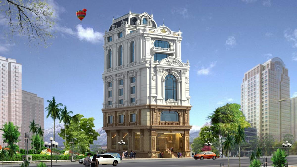 Văn phòng làm việc kết hợp cho thuê - Royal Land Building