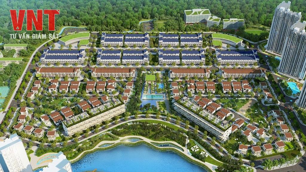Khu biệt thự và nhà phố Thủy Nguyên và Marina (Ecopark)