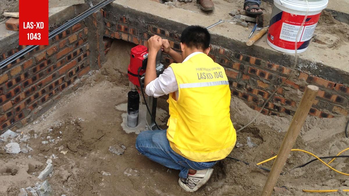 Kiểm định chất lượng bê tông móng nhà ở gia đình